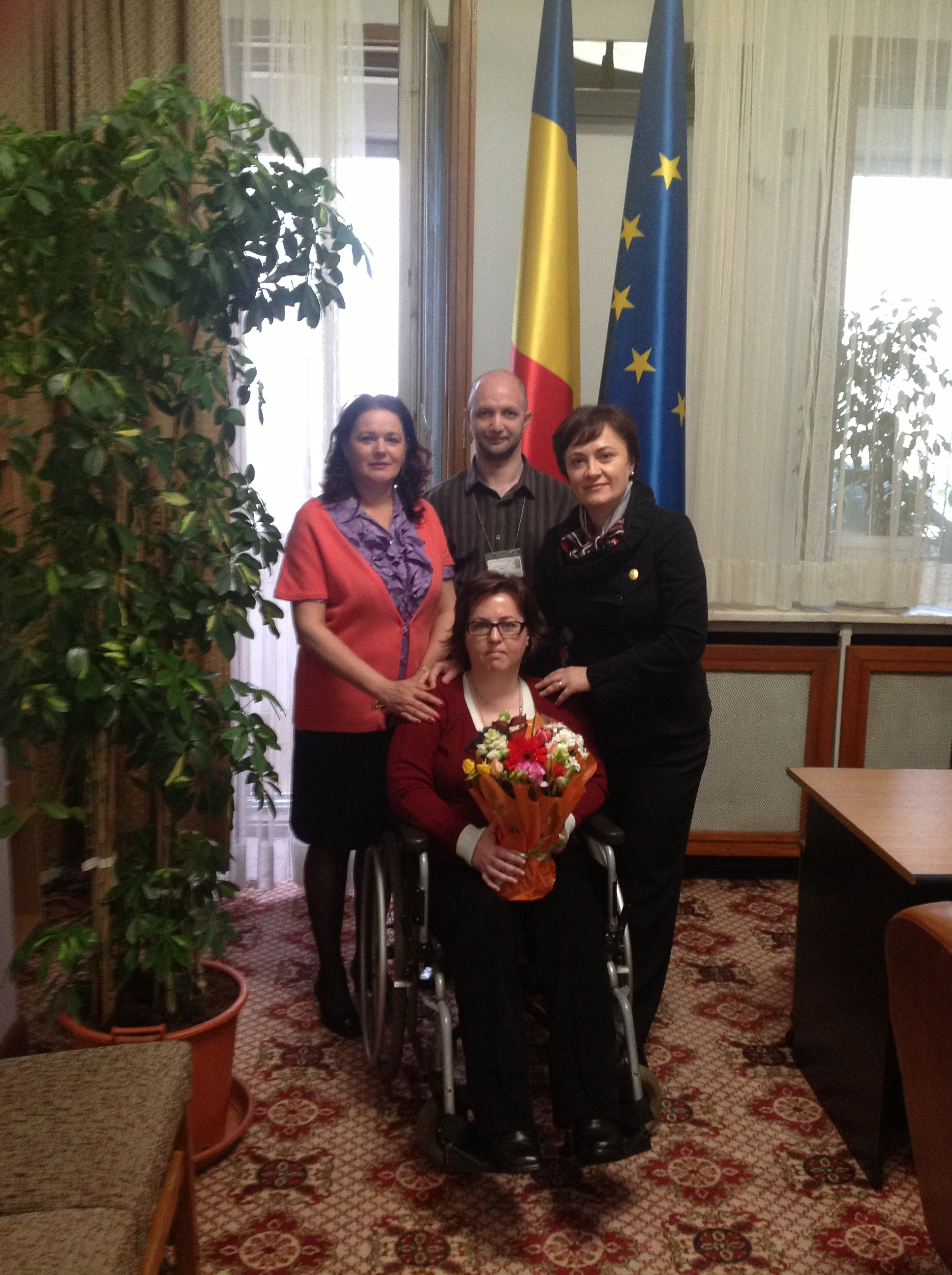 Intalnire cu deputatul Liliana Minca