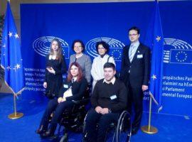 Discursul delegatului CNDR în cadrul celui de-al patrulea Parlament European pentru persoanele cu dizabilități