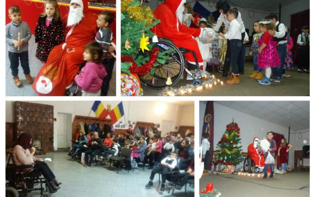 """Campania de întrajutorare """"Moș Crăciun în Pași Rotunzi"""""""